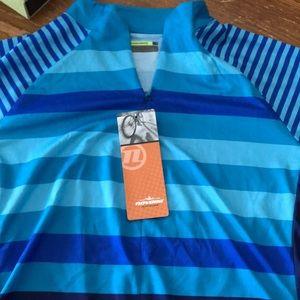 Women's Zoya Jersey Size XL Dragonfly Blue